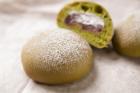 抹茶の桜餅大福