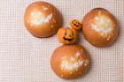 かぼちゃプリンの帽子パン